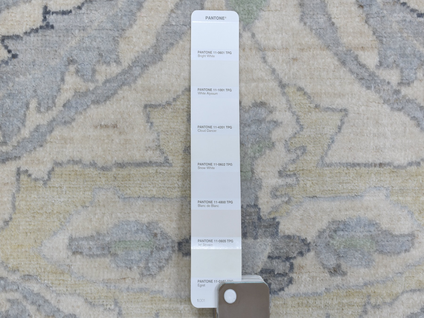 Transitional Wool Hand-Knotted Area Rug 8'1