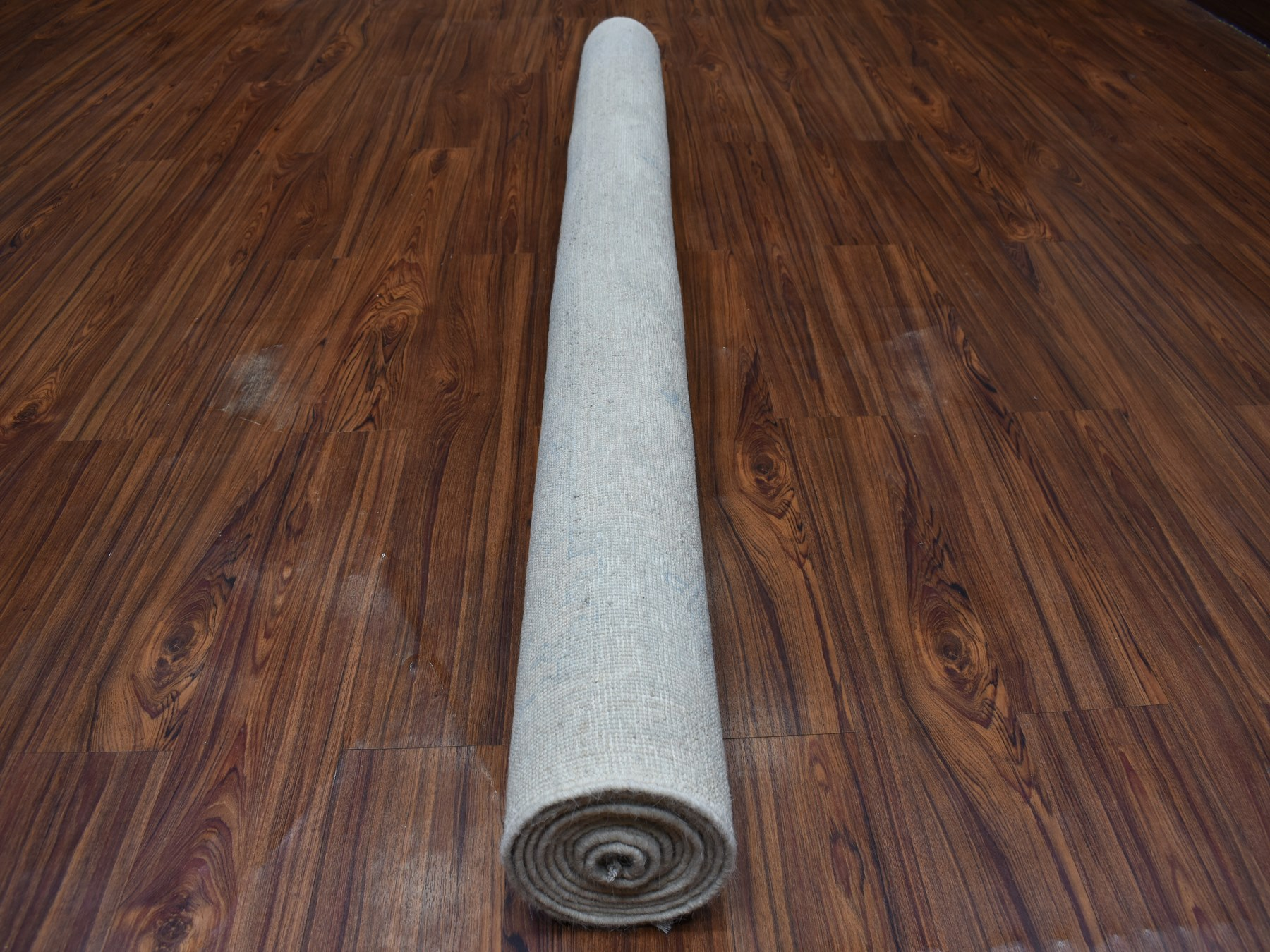 Transitional Wool Hand-Knotted Area Rug 5'10