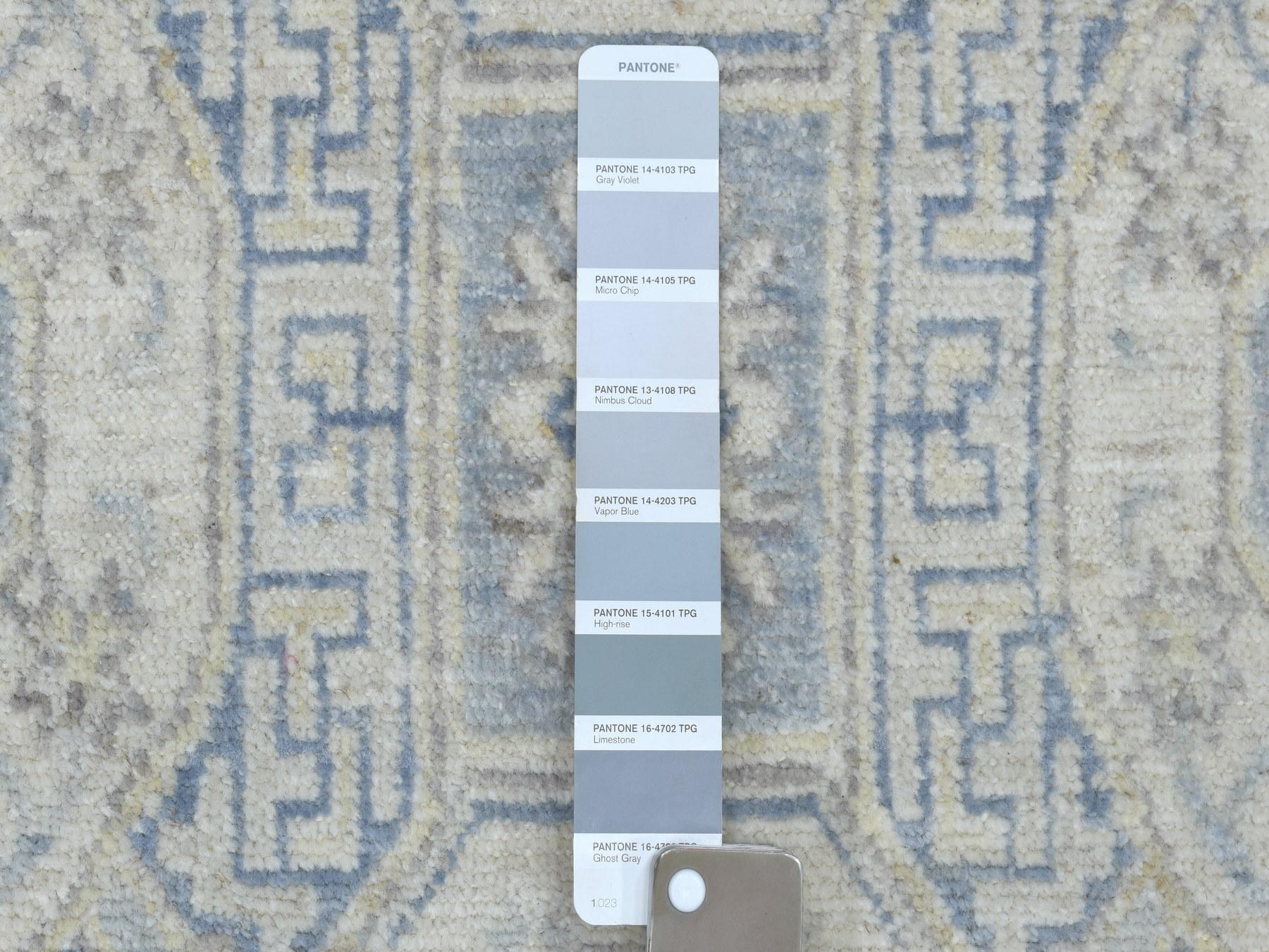 Transitional Wool Hand-Knotted Area Rug 2'6