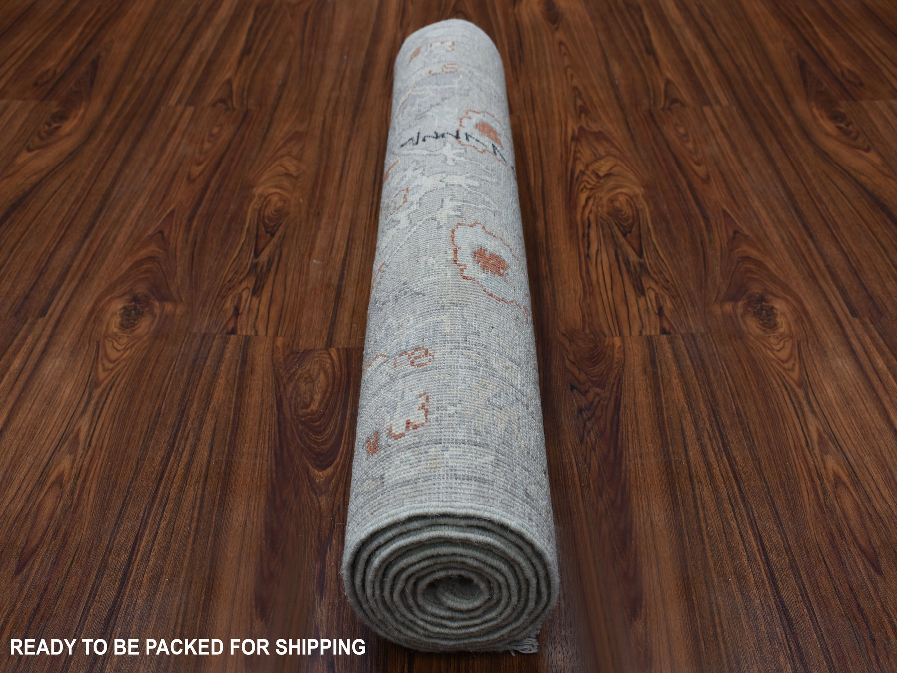 Traditional Wool Hand-Knotted Area Rug 2'5