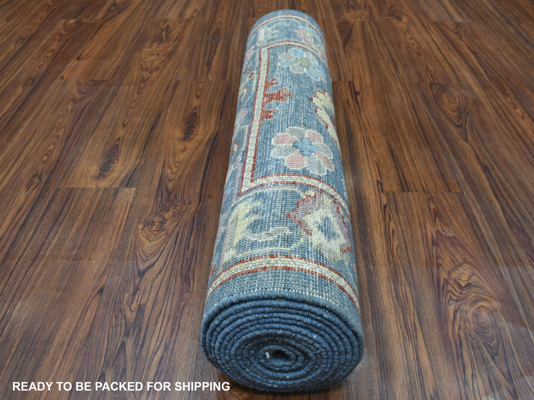 Transitional Wool Hand-Knotted Area Rug 2'10